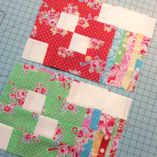 Sugar flowe blocks