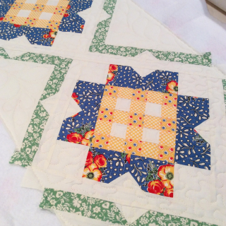 Buttercup quilted