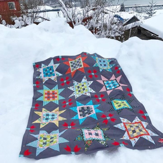 Gingham Stars in Alaska